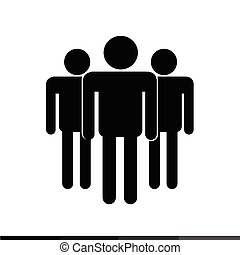 Pictogram People Icon Illustration design