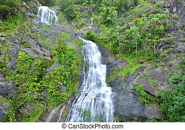 Falls in Queensland Australia - Falls descendsin Queensland,...