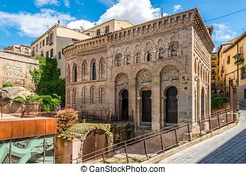 Mosque Cristo de la Luz in old Town of Toledo,Spain