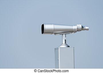 telescopio, para, Mirar, el, Aves, y, otro, animales,