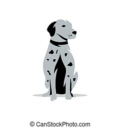 Vector Rhodesian Ridgeback Dog Cartoon Illustration -...
