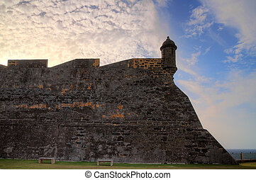 San Cristobal wall - Beautiful view of the large outer wall...
