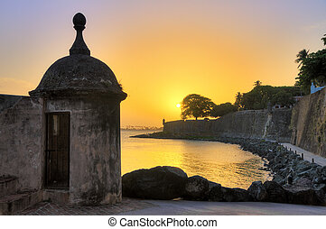 Sentry sunset San Juan - Beautiful summer sunset at the...