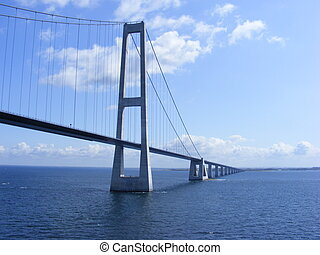 Great Belt Fixed Link - Photo of the Danish Great Belt Fixed...