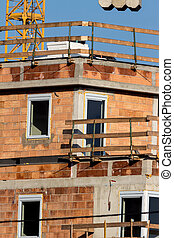 build homes - construction of a house for multiple tenants...