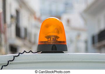 橙, 警報器