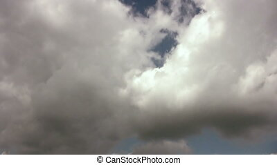 Cloudscape Flyby Sky Clouded - Sky Clouded - background...