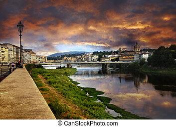 Florencia, ocaso