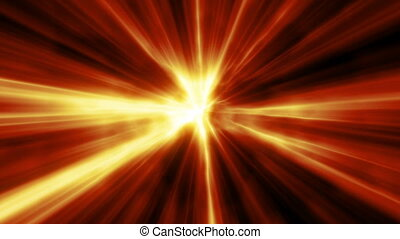 Hot Light Beams - background animation for home videos,...