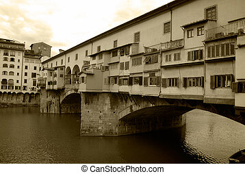 Memories of Ponte Vecchio - Memories of the oldest bridge in...