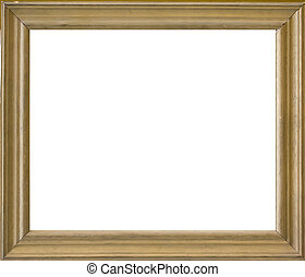 wood frame with white space in him
