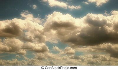 Cloudscape Flyby Summer Dreamy - Summer Dreamy - background...