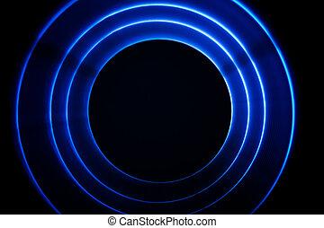 Sound waves tunnel