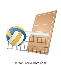 volleyball - Available in high-resolution and several sizes...