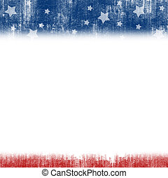 United States Patriotic background - An abstract...