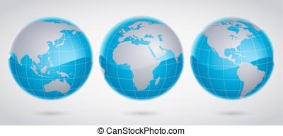 Simple Globe - Available in high-resolution and several...