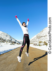 Runner winter success