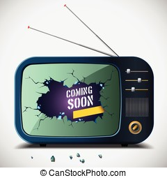 coming soon announcement tv - Available in high-resolution...