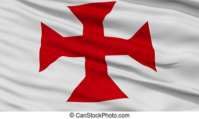 Sucre City Close Up Waving Flag - Sucre Capital City Flag of...