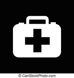 First aid icon illustration design