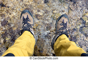 Hiking shoes - detail