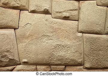 Inca Stone of 12 Angles in Cuzco Peru