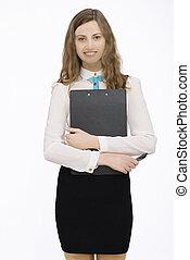 Portrait of businesswoman - Portrait of smiling...