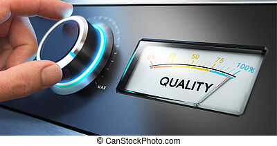 Total Quality Management, TQM - Image compositing between...