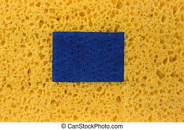 New Absorbent Sponge Absract Background With Copy Space -...