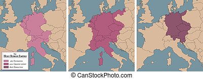 Holy Roman Empire Map Foundation - Holy Roman Empire,...
