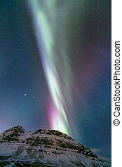 Aurora borealis Iceland - The Northern Lights Aurora...