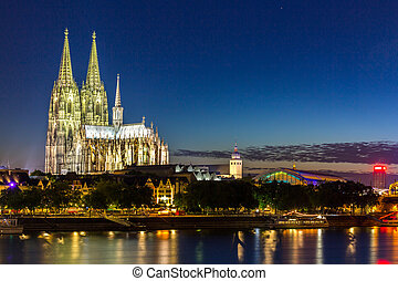 Cologne Cathedral River Rhine