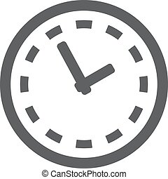 clock icon. Clock Symbol. Vector illustration EPS 10