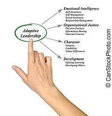 Diagram of Adaptive Leadership