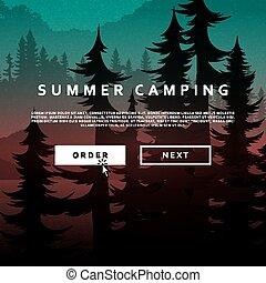 Nature and landscape Summer landscape of nature - Summer...
