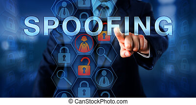 Cyber Security Specialist Pushing SPOOFING - Cyber security...