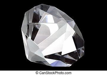 Diamond on Black