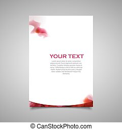 Modern simple marketing business flyer.