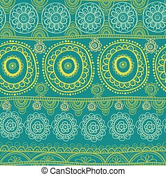 Ethnic seamless pattern. Indian ornament.