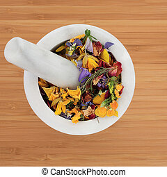 Pot Pouri Flowers and Herbs - Pot Pouri dried herb and...
