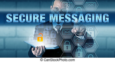 Security Consultant Pushing SECURE MESSAGING - Security...