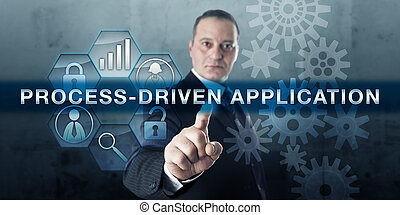 Developer Pushing PROCESS-DRIVEN APPLICATION - Developer...