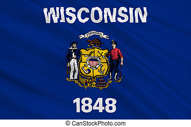 State Flag of Wisconsin