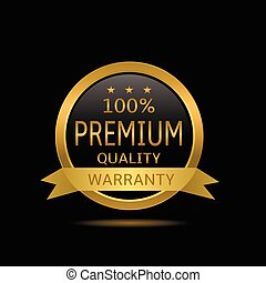 Premium quality label - Original premium quality label....