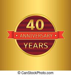 Anniversary 40 years