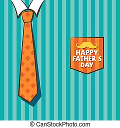 happy fathers day greeting design