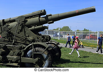 when the military equipment at the - the month of May , in...