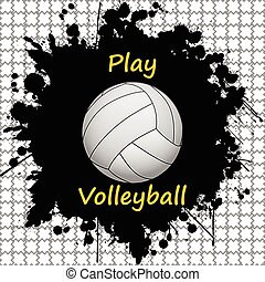 Volleyball-sport-background