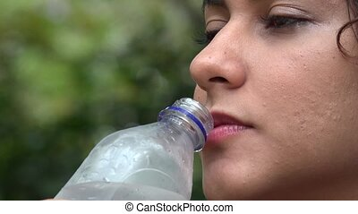 "Woman, Water Bottle, Drink - ""Woman, Water Bottle, Drink,..."