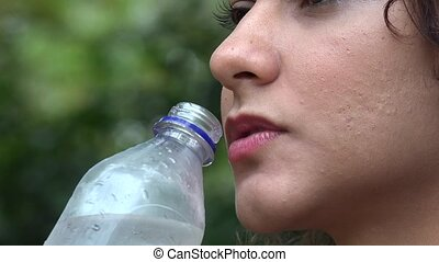 Woman, Water Bottle, Drink - Woman, Water Bottle, Drink,...